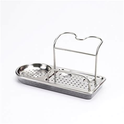 kitchen sink caddy organizer kitchen storage stainless steel organizer rack soap sponge