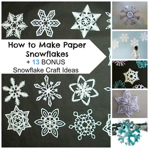 how to make paper and craft how to make paper snowflakes 13 bonus snowflake craft