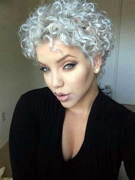 haircut for thick frizzy gray hair 30 penteados para cabelos curtos e cacheados como fazer