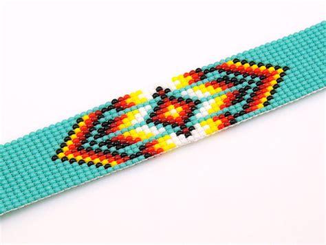 seed bead bracelet patterns loom american pattern bead loom bracelet seed bead by