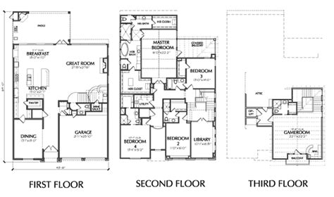 3 story townhouse floor plans 3 story townhouse floor plans for sale