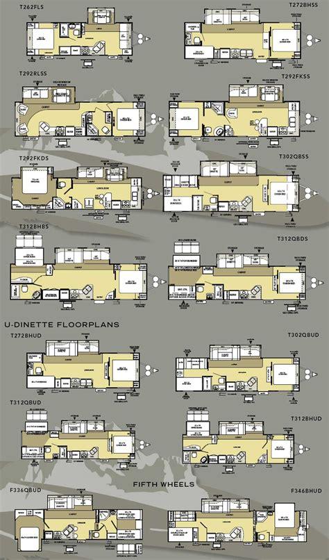 salem travel trailer floor plans forest river salem la travel trailer floorplans large