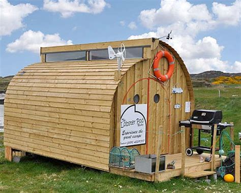 tiny houses cost the lobster pod low cost tiny house webecoist