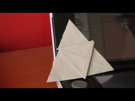 Hacer Trifuerza De Origami The Legend Of