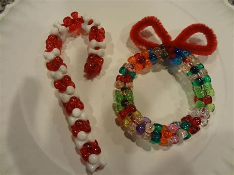 pipe cleaner bead ornaments 1000 images about ornaments pipe cleaners on