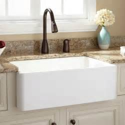 farm house kitchen sinks fireclay farmhouse kitchen sinks signature hardware