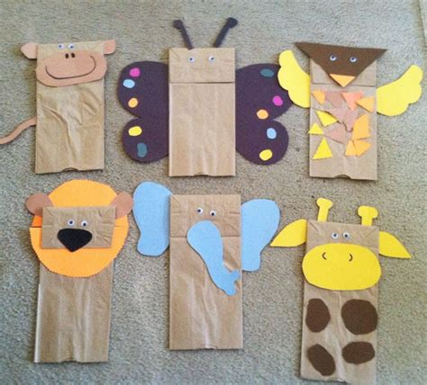 paper bags craft 25 best ideas about paper bag puppets on