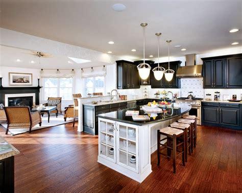 kitchen design concept curved granite on island spaces open concept kitchen