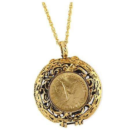 seed jewelry mustard seed locket coin pendant 232745 jewelry