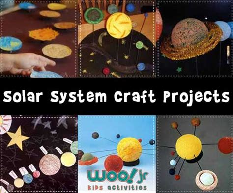 solar system craft projects solar system models and solar system projects
