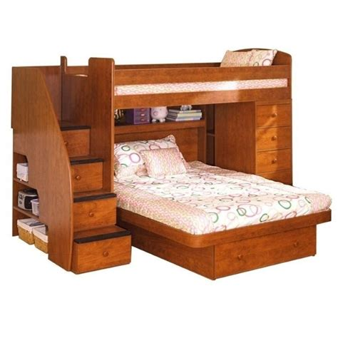 wood loft bunk bed wood loft bed 22 816 xx