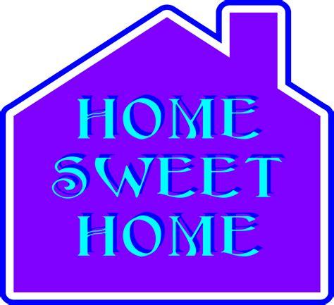 sweet home clipart home sweet home 2