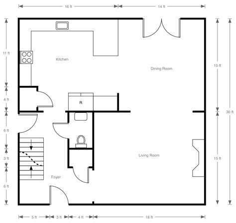 how to draw a floor plan of a house touchdraw for floorplan tutorial 183 gitbook