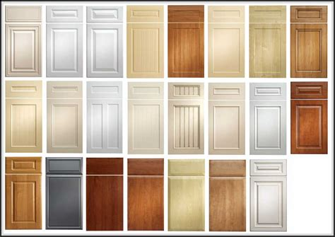 kitchen door designs kitchen cabinet door styles and shapes to select home