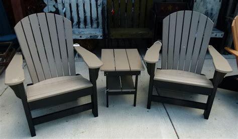 Vinyl Adirondack Chairs by Vinyl Adirondack Lawn Furniture