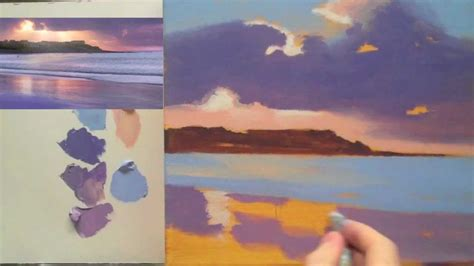 acrylic painting lessons step by step acrylic landscape painting techniques lessons for