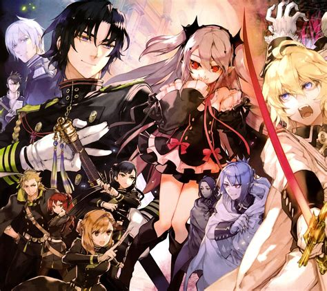 seraph of the end owari no seraph seraph of the end anime wallpapers for