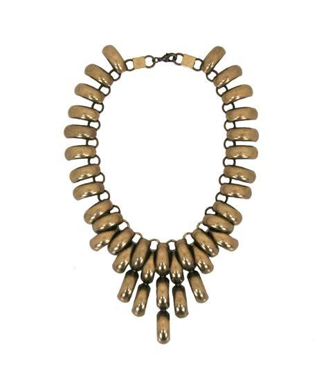 how to make brass jewelry dudine veracruz starburst necklace in brass