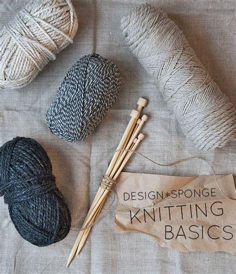 basic knitting 27 beginner knitting and crochet tutorials