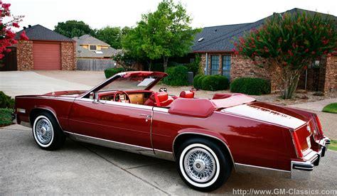 85 Cadillac Eldorado For Sale by 1985 Cadillac Eldorado Convertible Matt Garrett