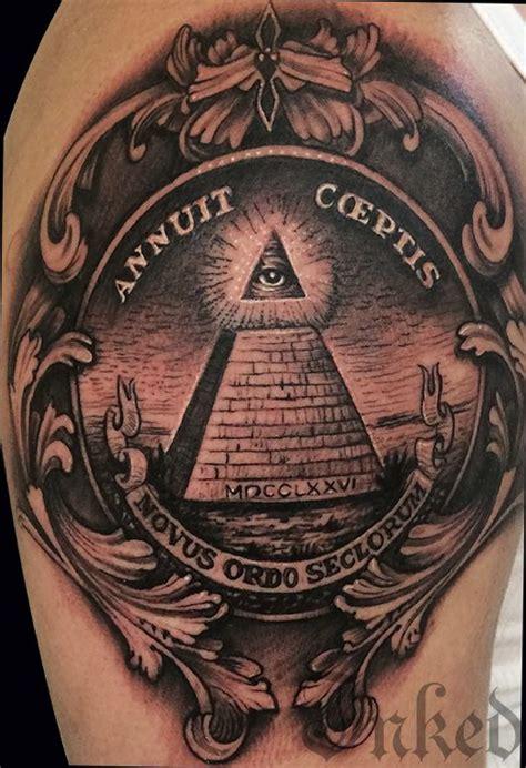 danny lepore inkedmagazine illuminati tattoo tattoos