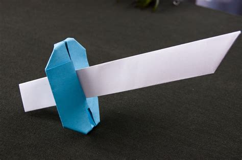 easy origami weapons easy origami sword