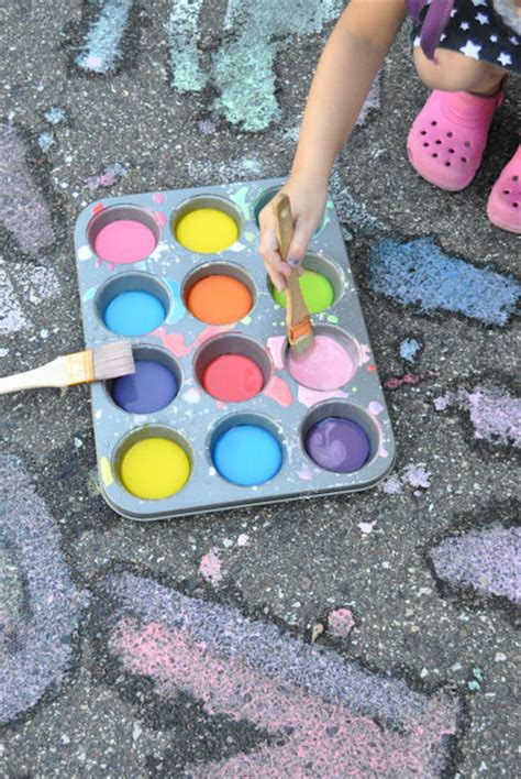 chalk paint thick activities mommyy madness
