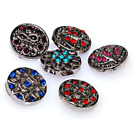 snap jewelry snap button charms with cz for snap charm bracelets