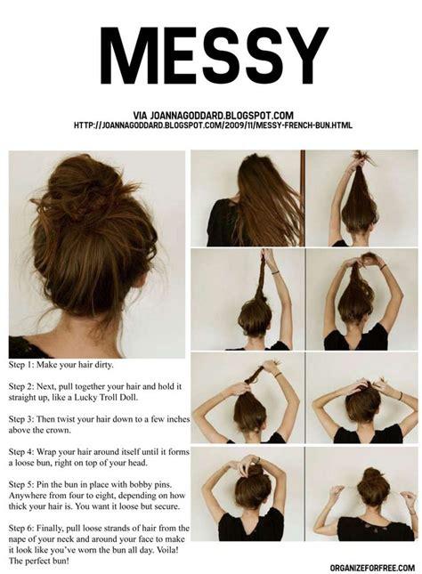 tutorial thin hair hairstyles tutorials cool and easy hairstyles messy bun tutorials