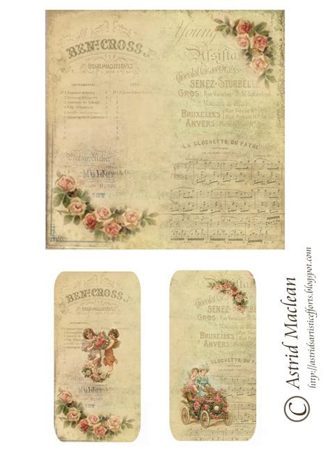 free printable decoupage 17 best images about vintage printables on