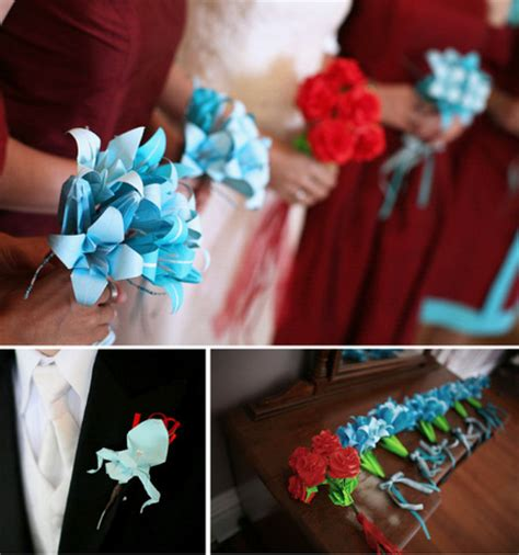 how to make origami bouquet diy wedding flowers tips wedding decorations