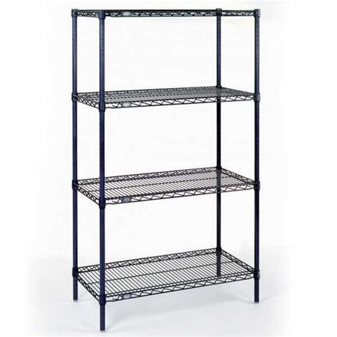 nexel wire shelving nexel chrome 18x48x86 e z adjust wire shelving starter