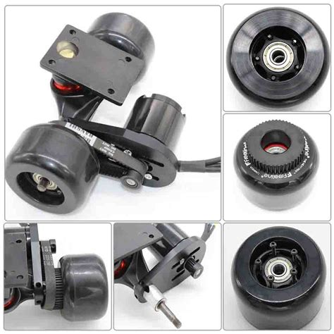 Electric Motor Mount by Electric Skateboard Longboard Kit Pulley And Motor Mount