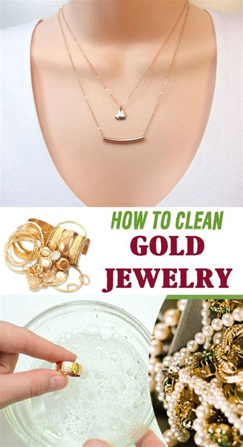 how to make jewelry cleaner for gold clean gold jewelry gold jewelry and cleanses on