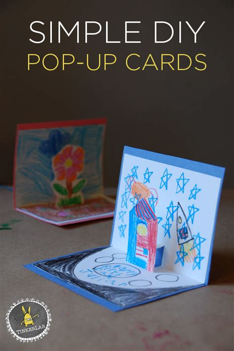 pop up cards for to make how to make pop up cards tinkerlab