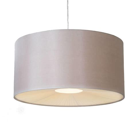 light shade ceiling large ribbon easy to fit ceiling shade drum mocha from