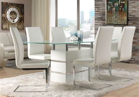 black and white dining room chairs white leather dining room chairs decor ideasdecor ideas