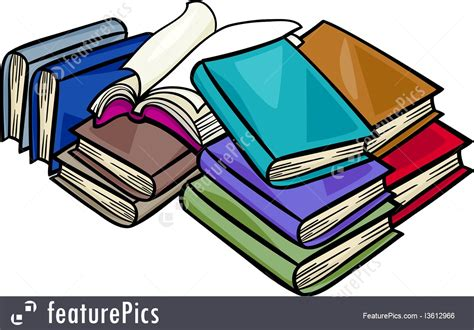 pictures with books heap of books illustration