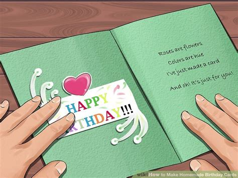 birthday cards to make at home 3 ways to make birthday cards wikihow