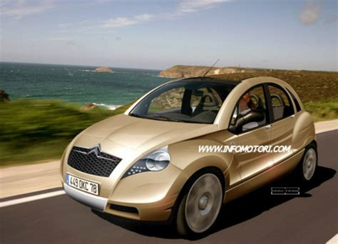 Citroen Cv by Citroen 2 Cv Renderings News Top Speed