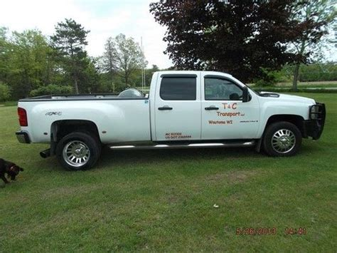 find used 2008 chevy 3500 duramax dually in wautoma wisconsin united states for us 25 000 00