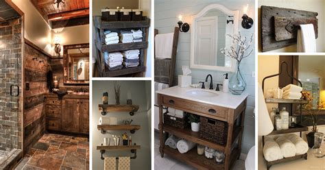 Rustic Themed Bathroom by 31 Best Rustic Bathroom Design And Decor Ideas For 2017