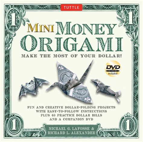 dollar origami book mini money origami kit book summary official