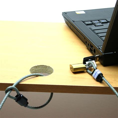 lock laptop to desk how to lock a laptop to a desk laptop desk lock cl049