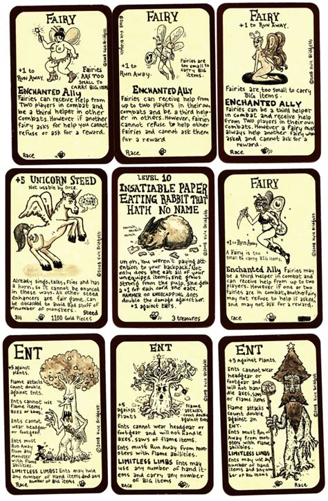 make your own munchkin cards munchkin door cards by goodbunny2000 on deviantart