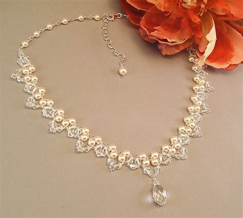 for jewelry pink pearl bridal jewelry bridal jewelry