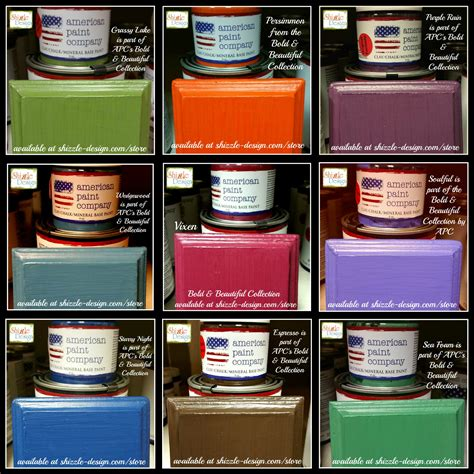 chalk paint locations american paint company s bold beautiful color collection