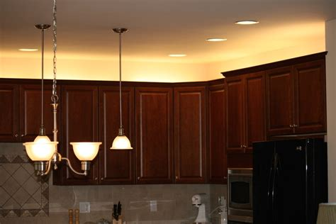 lighting above kitchen cabinets new home project cabinet lighting