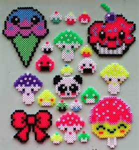 hama food designs perler bead patterns images images