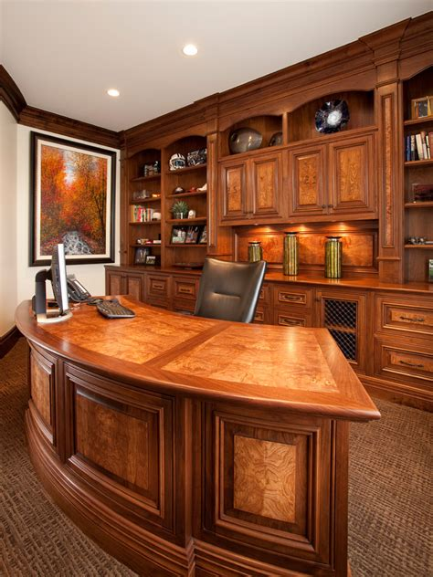 modern built in desk modern executive desk home office traditional with built